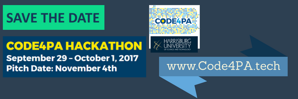 The Commonwealth's first hackathon, Code4PA, comes to Harrisburg Univesity Sept. 29-Oct. 1